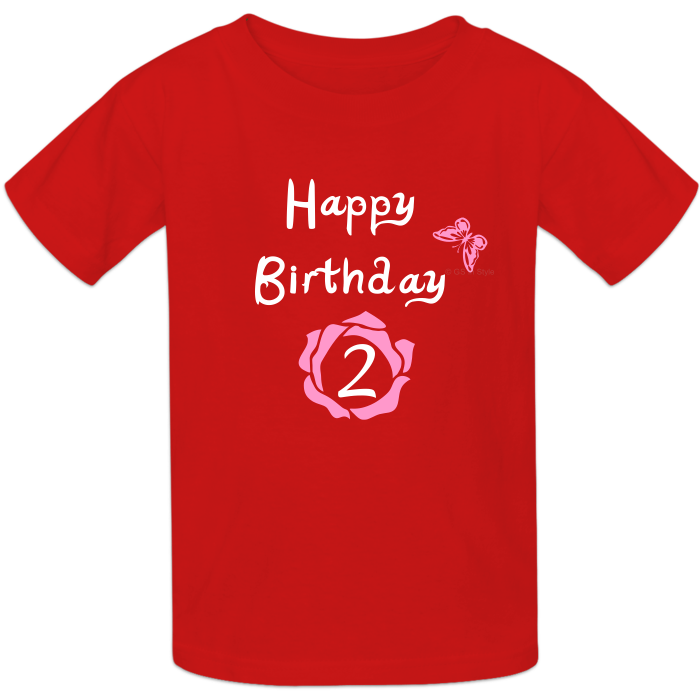Design Your Own First Birthday Shirt
