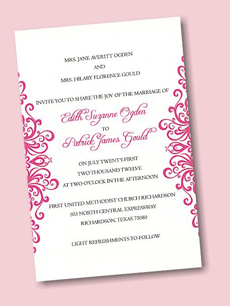 Design Your Own Wedding Invitations Online