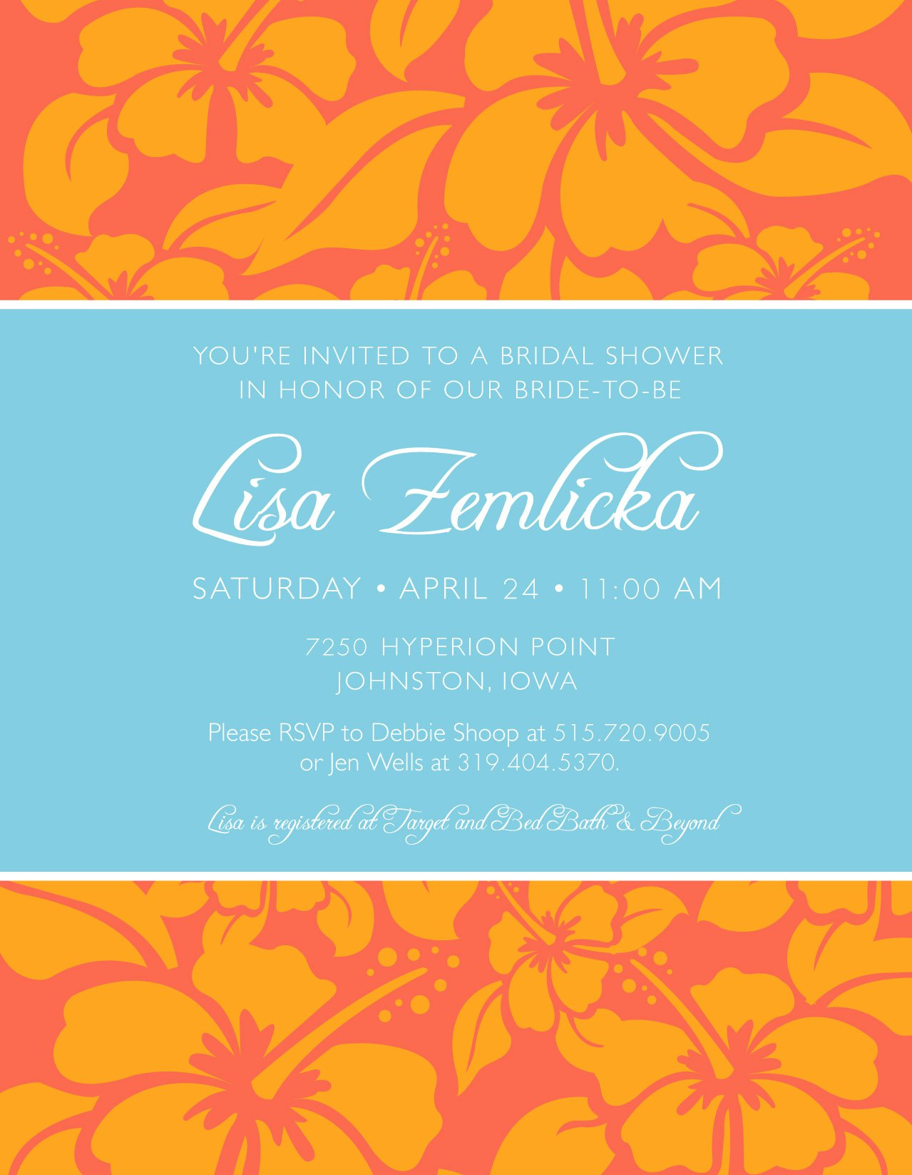 Designer Baby Shower Invitations
