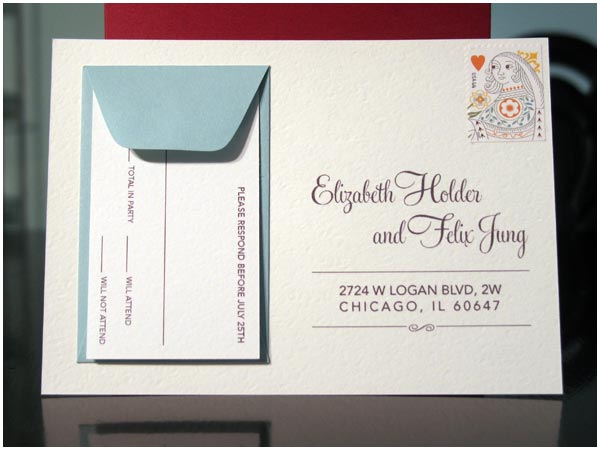Designing Invitations Postcard
