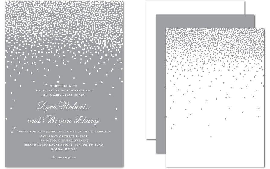 Diamond Collection Wedding Invitations