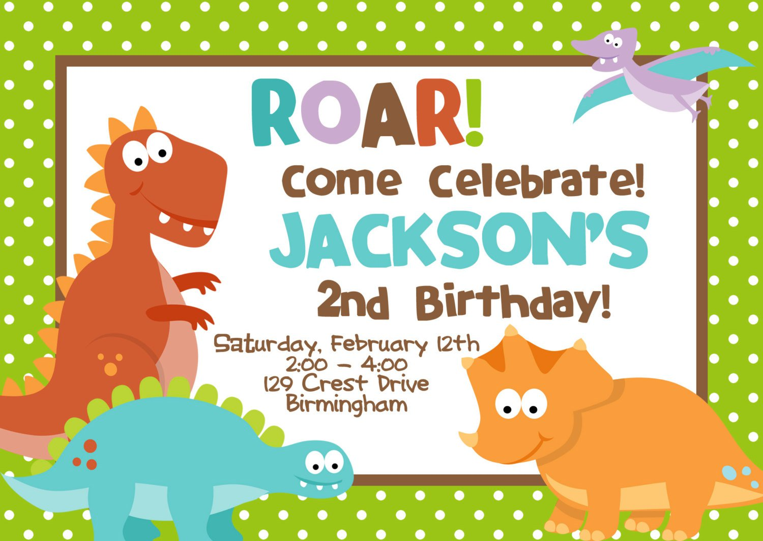 Party Invitations – Dinosaur Party Invitation Wording