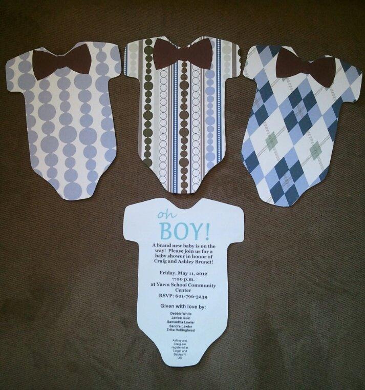 Diy Baby Shower Invitations Templates