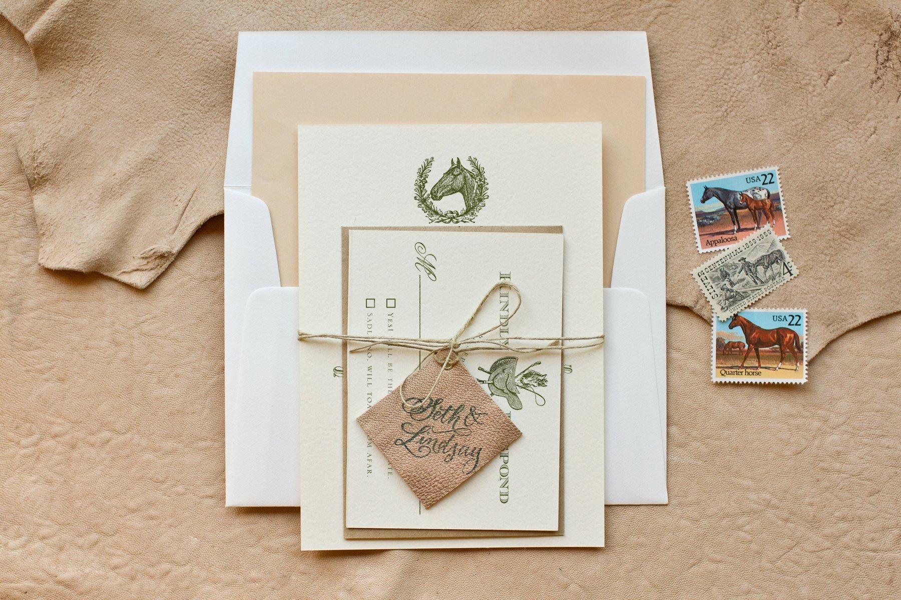 Diy Country Wedding Invitation Ideas