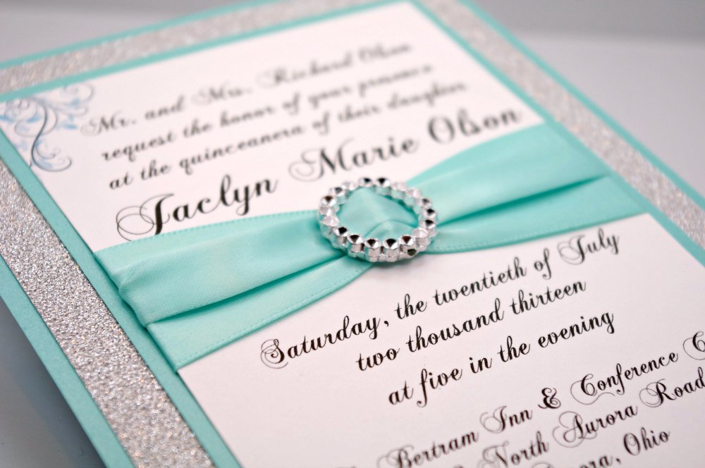 Do It Yourself Quinceanera Invitations Kits