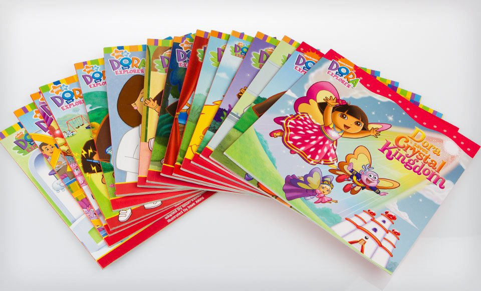 Dora The Explorer Books Online