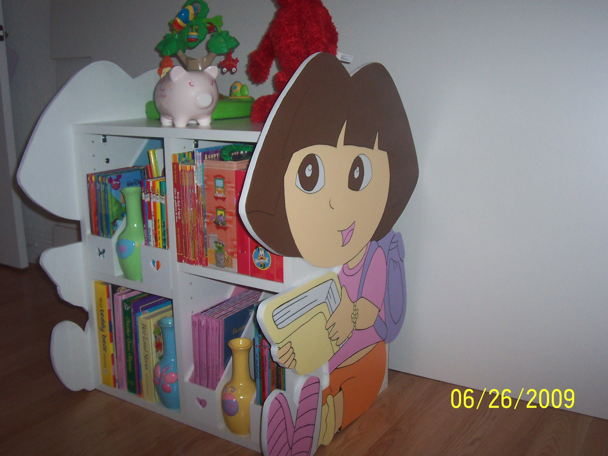 Dora The Explorer Bookshelf