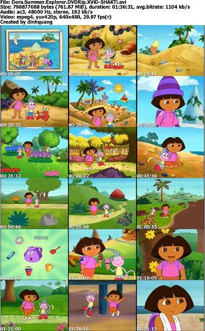 Dora The Explorer Seasons On Dvd