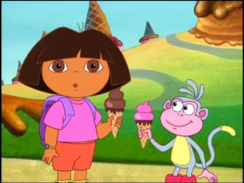 Dora The Explorer We All Scream For Ice Cream