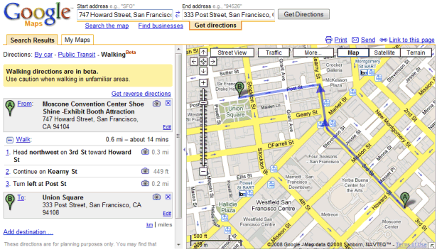 Driving Directions For Invitations