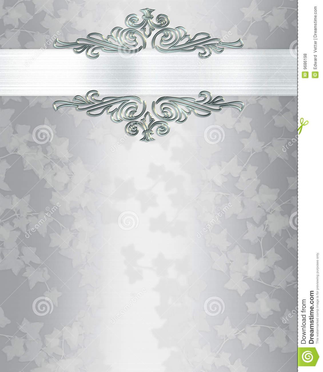 Elegant Wedding Invitation Background