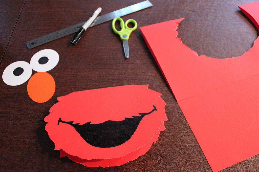 Elmo Invitations Templates