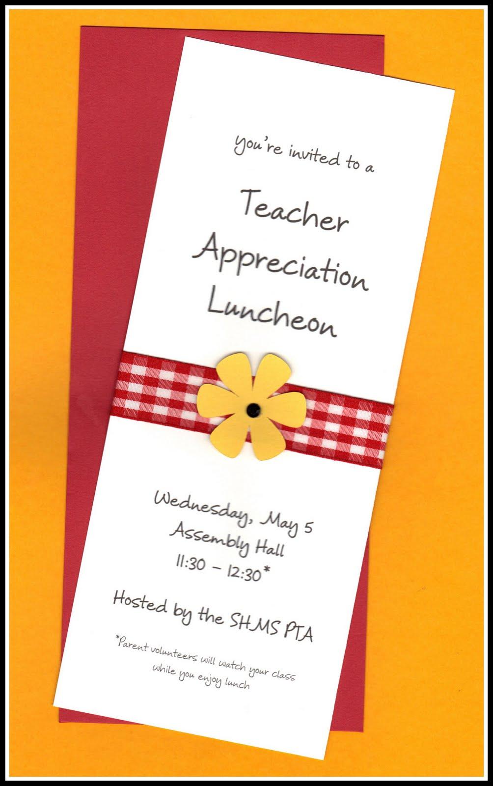 Employee Appreciation Lunch Invitation Wording
