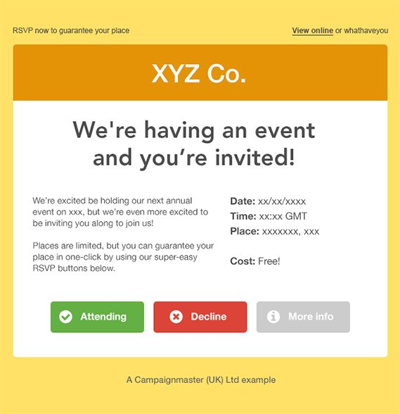 Example Of Confirmation Invitation