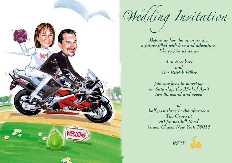 Examples Of Funny Wedding Invitations