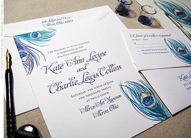 Examples Of Unique Wedding Invitations