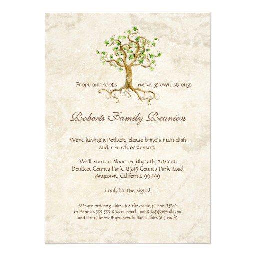 Family Reunion Party Invitation Templates