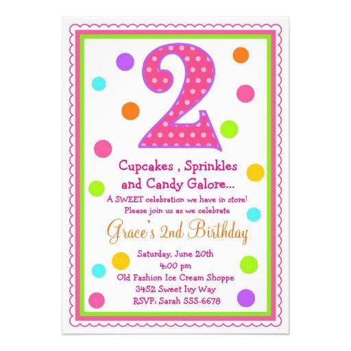 Fifth Birthday Invitation Wording