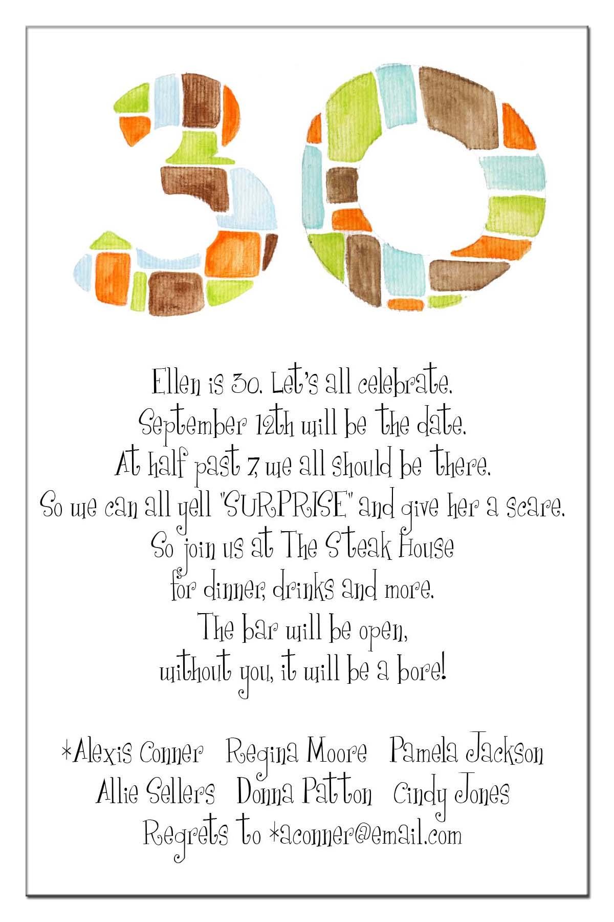 Formal 21st Birthday Invitation Wording