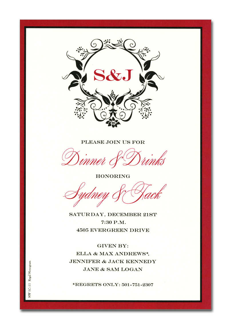 Formal Business Invitation Wording