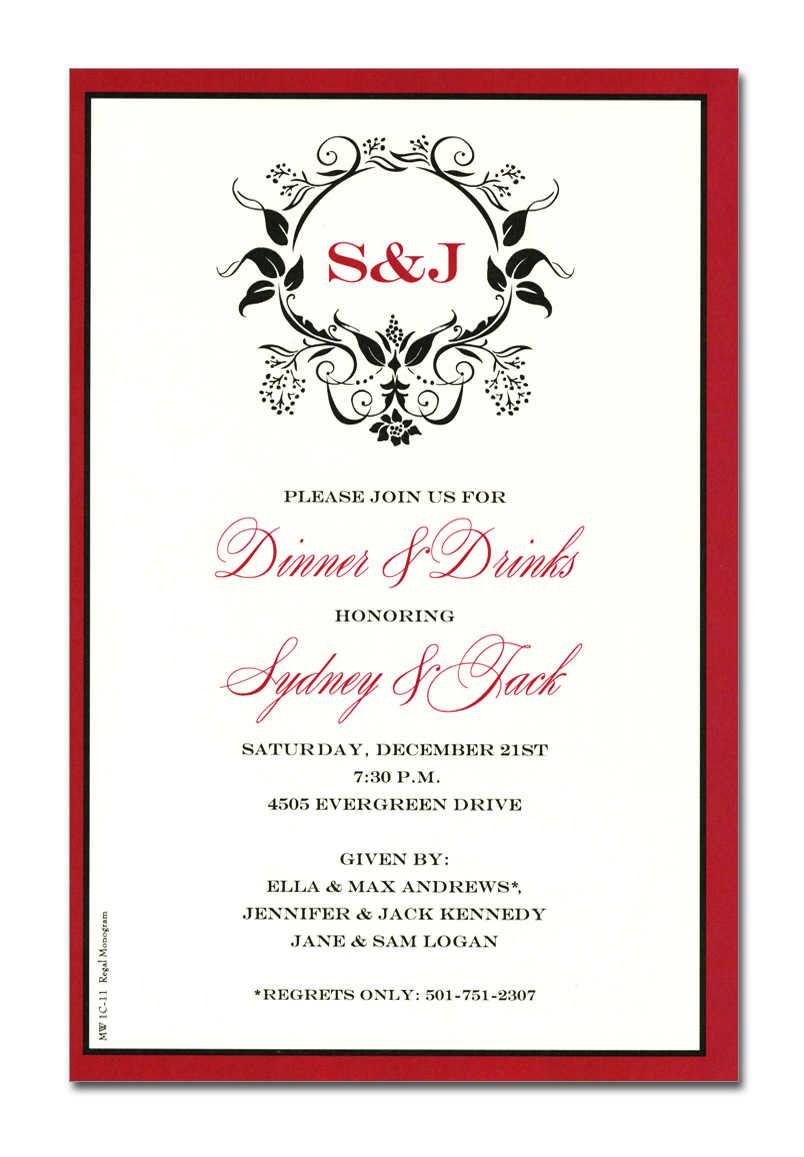 Formal Business Invitation Wording