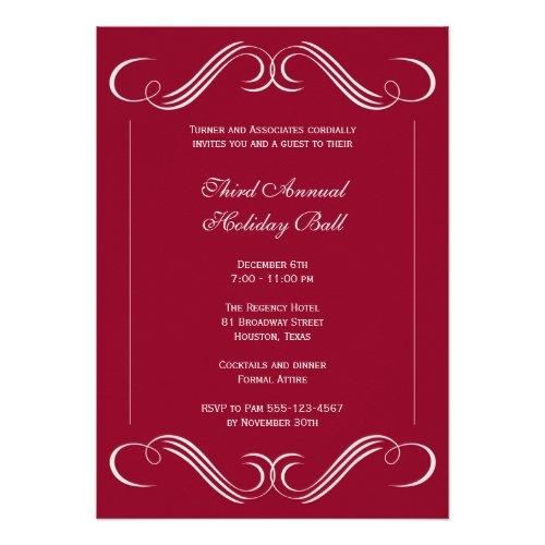 Formal Business Invitations