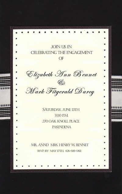 Formal Corporate Invitations