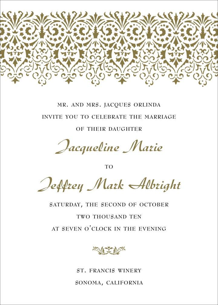 Formal Holiday Invitation Wording