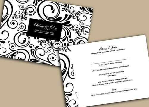 Formal Invitation Designs