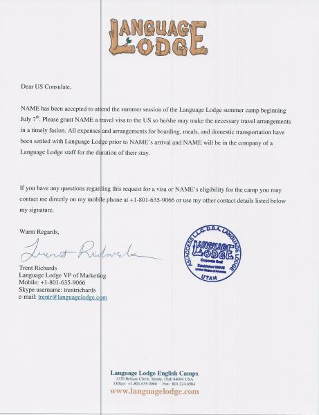 Formal Invitation Letter