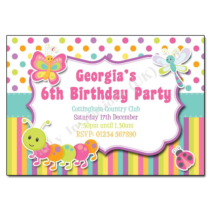 Free Birthday Invitation Templates To Print At Home