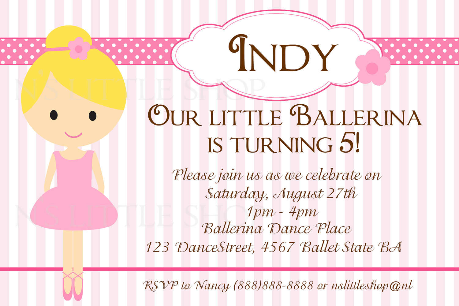 Free Birthday Invitations Design Your Own