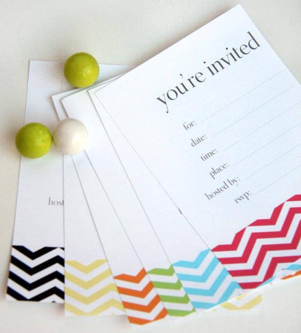 Birthday Invitations Free Editable Templates