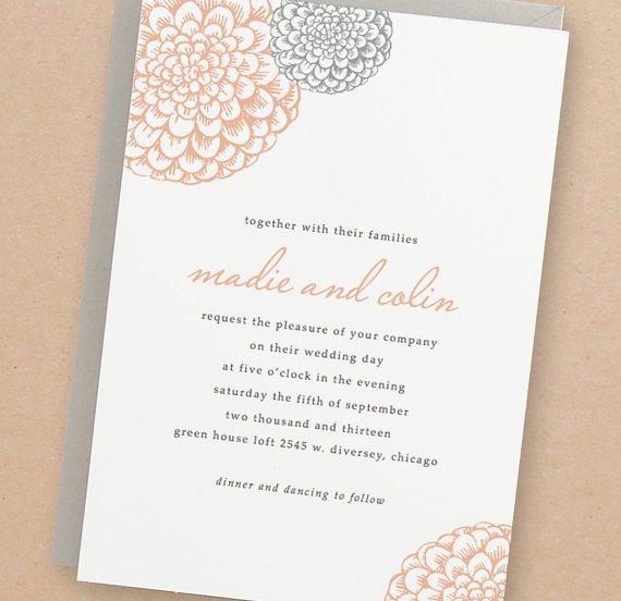 Free Editable Wedding Invitations Templates