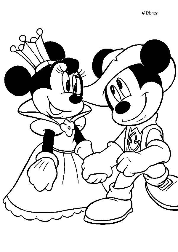Free King And Queen Coloring Pages