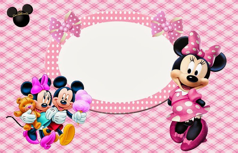 Free Minnie Mouse Invitations To Print