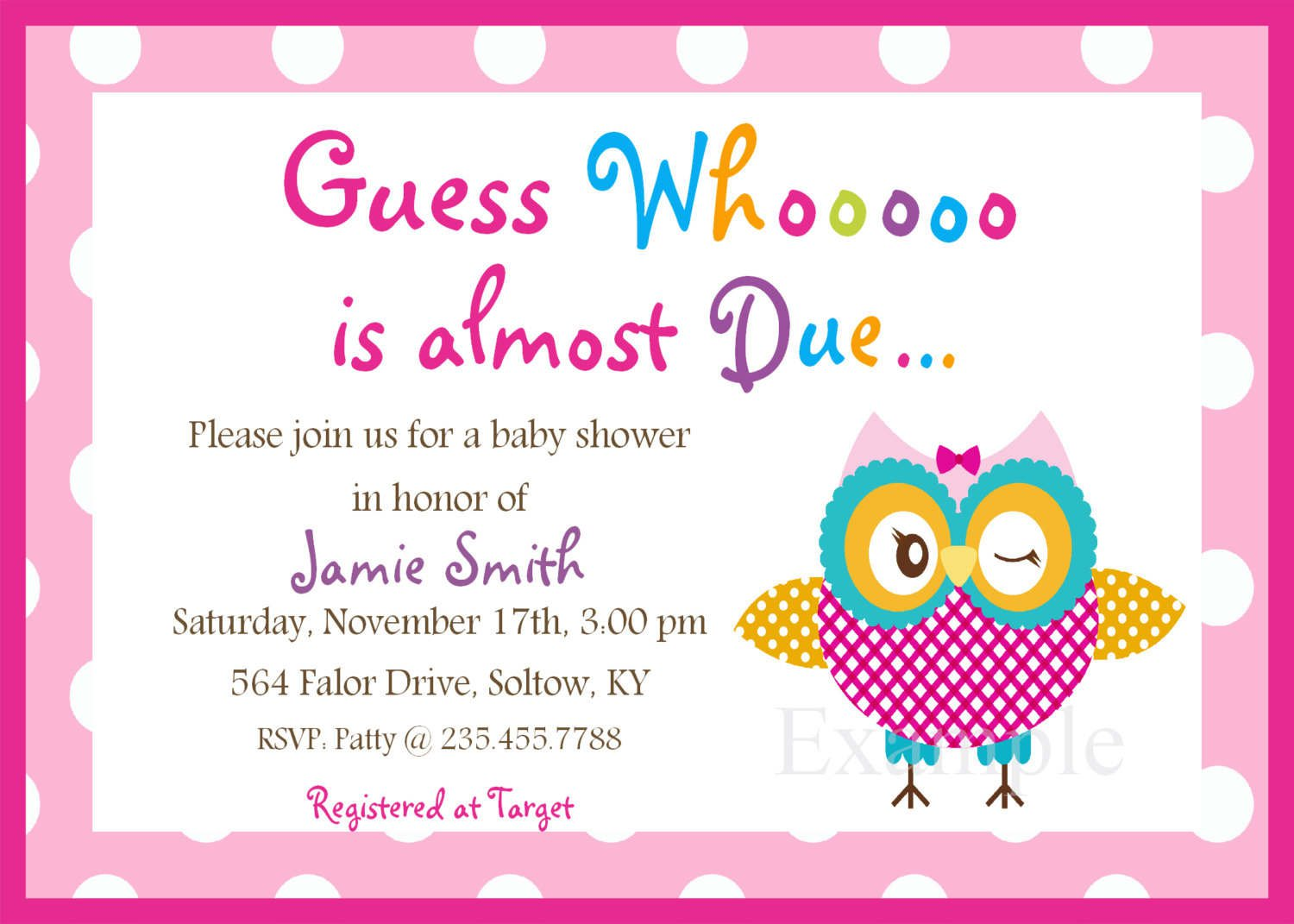 Free Printable Baby Shower Invitation Paper