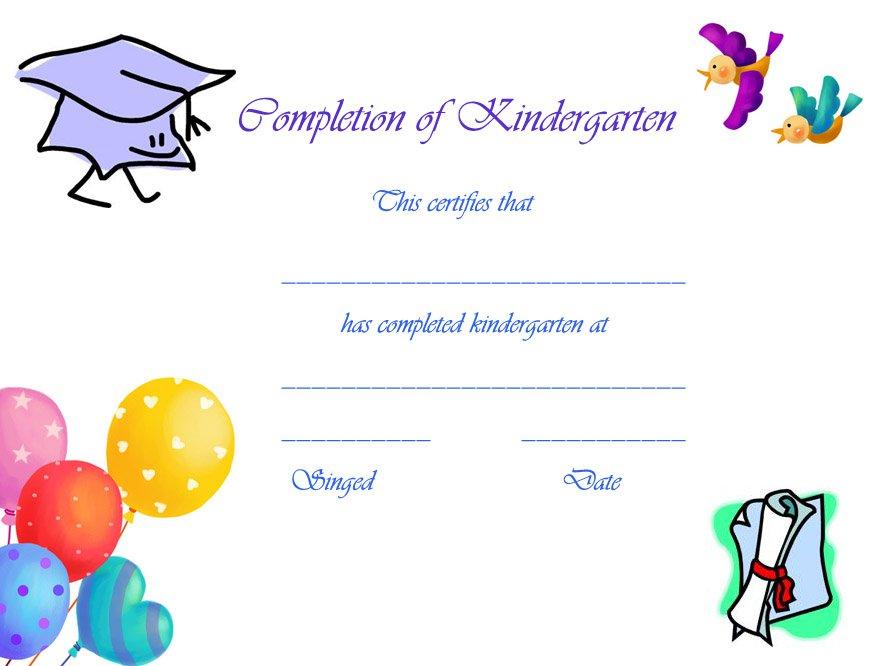 Free Printable Graduation Cards For Preschoolers