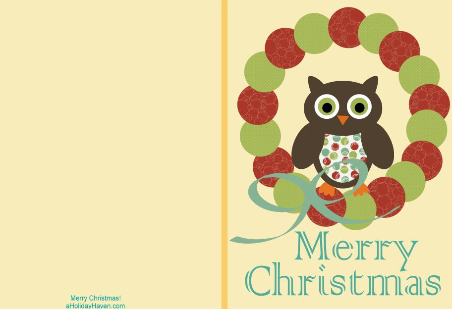 Free Printable Greeting Cards Christmas