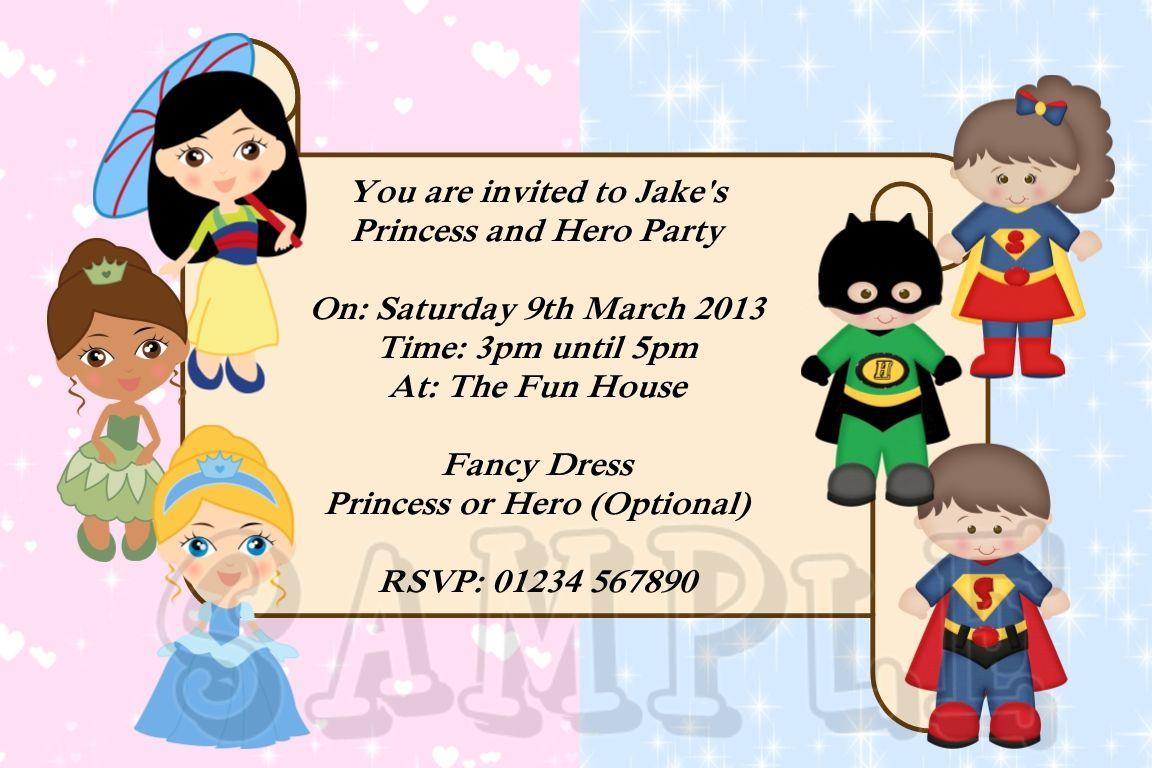Free Printable Superhero Invitations Uk