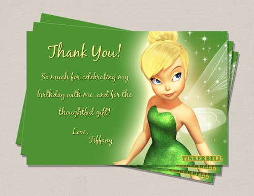 Tinkerbell Free Printable Birthday Cards – Digital Birthday Cards Free