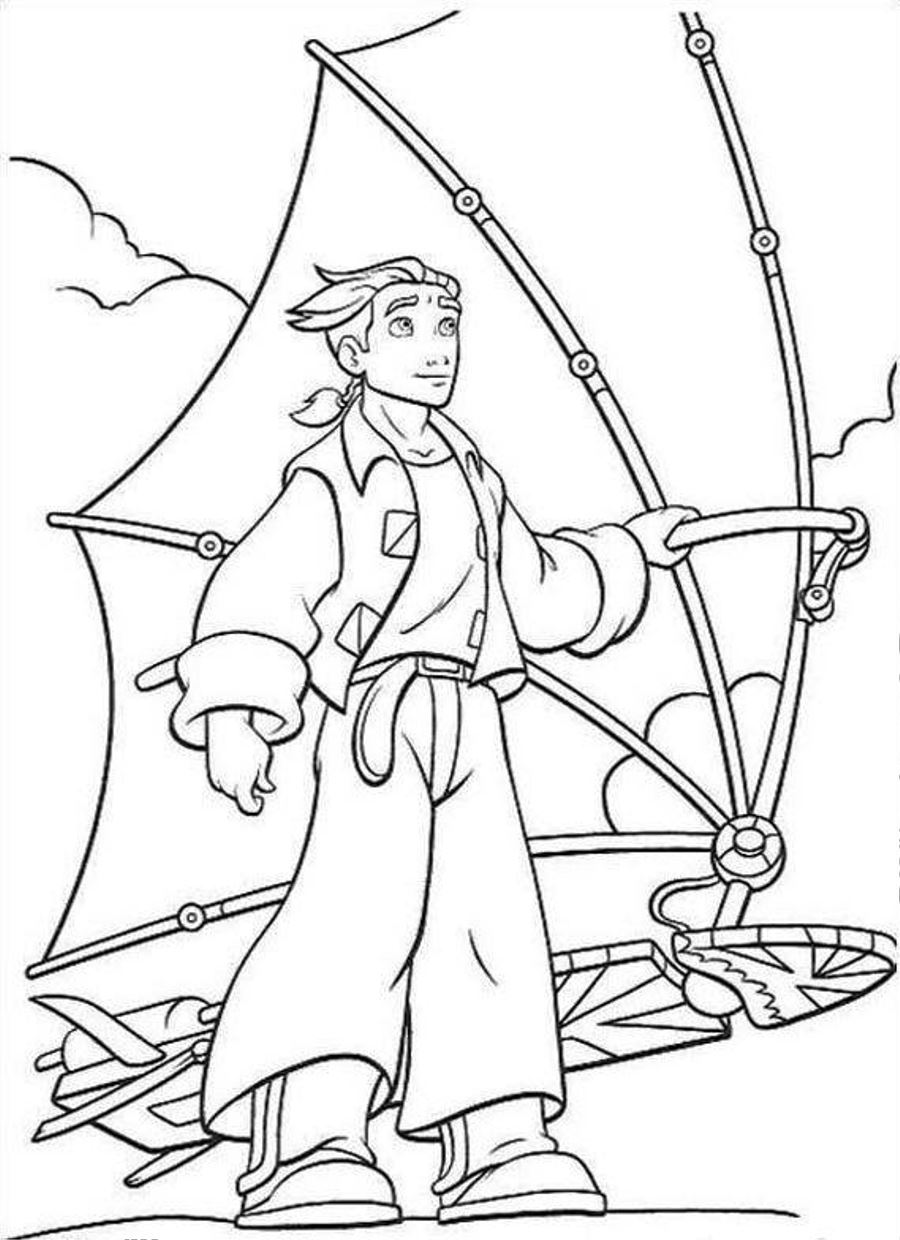 Free Printable Treasure Planet Coloring Pages