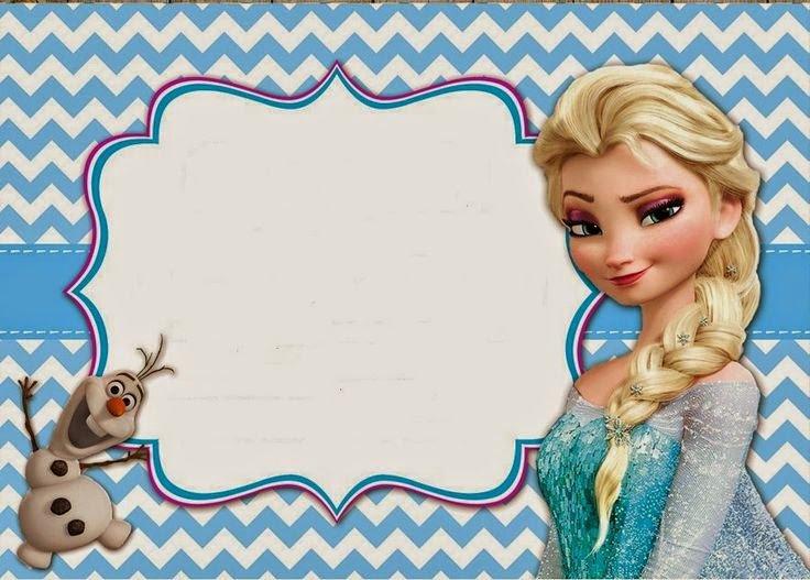 Frozen Birthday Party Customizable Invitation Templates Free