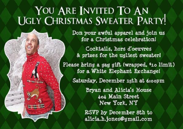 Fun Christmas Party Invitation Templates