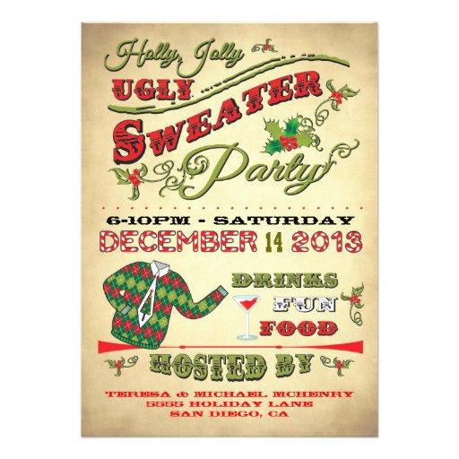 Fun Holiday Party Invitation Templates