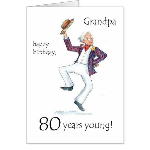Funny 80th Birthday Invitations