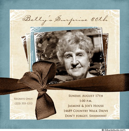 Funny 80th Birthday Invitations Wording