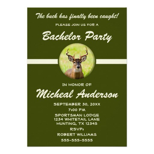 Funny Bachelor Party Invitations