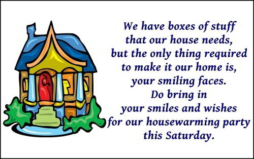 Funny House Warming Invitations