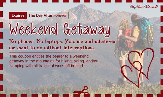 Get Away Invitations